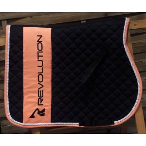 dec157f44ec6a QUEEN HORSE Czaprak dla konia REVOLUTION Sport black/orange